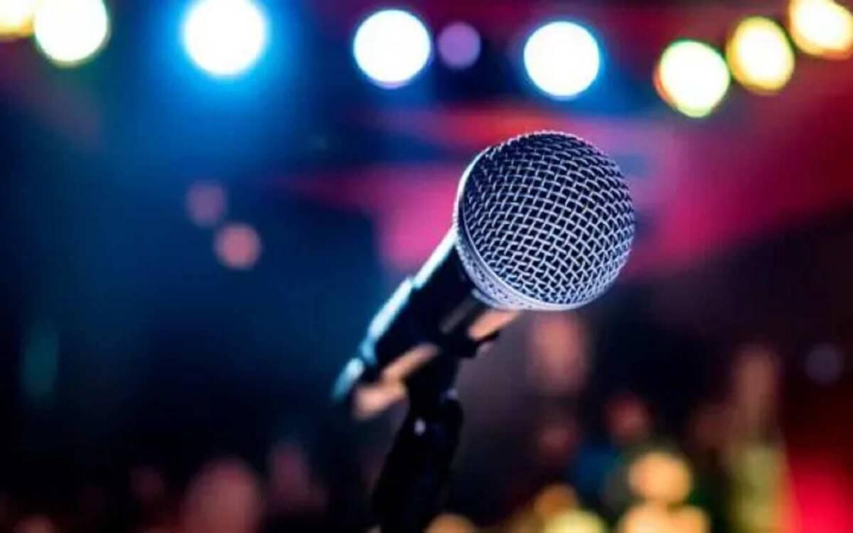 Microfono cantante